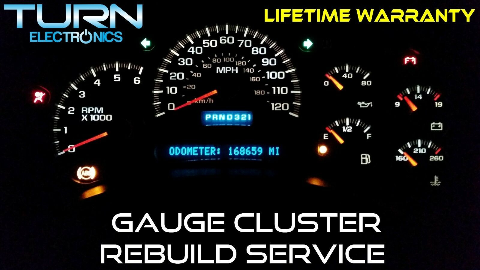 Used 1995 Chevrolet Tahoe Instrument Clusters for Sale