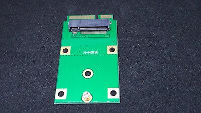 M.2 NGFF SSD to Mini PCI-E mSATA Adapter Card Replacement Converter