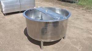 680 lt stainless steel tank, milk vat, food grade, dairy, water, Timboon Corangamite Area Preview