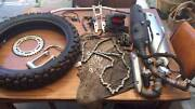 yamaha WR250 dual sport exhaust + spare parts Wembley Downs Stirling Area Preview