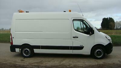 12 REG VAUXHALL MOVANO 35 2.3 MWB RIONED DIESEL JETTER JETTING VAN PAC AIRCON
