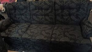 Couch and chair set.