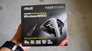 Asus usb n66 wireless N-900 Perth Perth City Area Preview