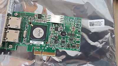 New Dell Broadcom 5709 Dual Port Pci E Network Card Adapter F169g   G218c