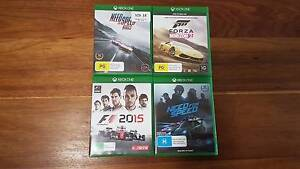 Need for Speed 2015, Forza Horizon 2, F1 2015 and NFS Rivals Xbox Plympton West Torrens Area Preview