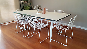 Studio Wire set of Dining Chairs (indoor or outdoor) Mentone Kingston Area Preview