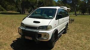 1996 Mitsubishi Delica 4WD Campervan South Fremantle Fremantle Area Preview