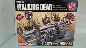 The walking dead darryl with chopper 154 pieces Footscray Maribyrnong Area Preview