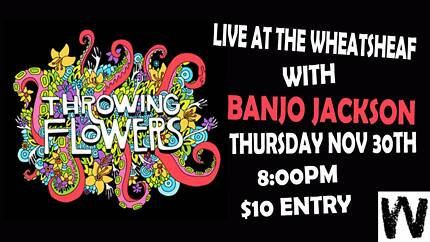 Throwing Flowers & Banjo Jackson (Duo) Live at The Wheatsheaf
