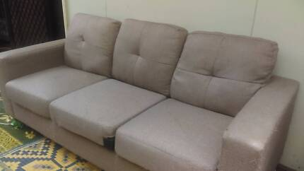 Three seater grey couch $80