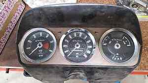 '64 GT Cortina dash binnacle Gumeracha Adelaide Hills Preview