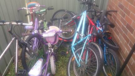 Bicycle bundle lot GT haro mongoose etc Gymea Sutherland Area Preview