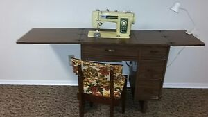 Sewing machine and Cabenit