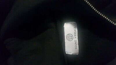 BOYS YOUNG VERSACE HOODED TOP