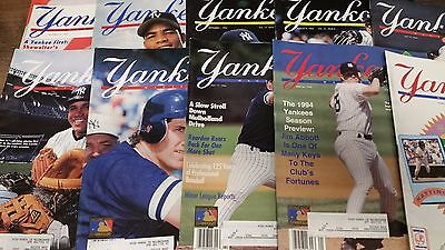 11X New York Yankees Magazine lot from the 90s