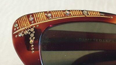 Sonnenbrille Vintage der 60-70 Jahre Frame France   (Katze Auge Frames)