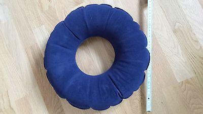Sitzring aufblasbar blau ca. 42 Durchmesser Dekubitus, Hämorrhoiden NEU