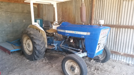 Ford tractor & slasher for sale
