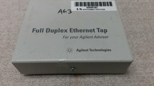 AGILENT HP KEYSIGHT J1990A FULL DUPLEX ETHERNET TAP