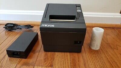 Epson Tm-t88iii M129c Serial Thermal Receipt Printer Wepson Ps-180 Power Supply
