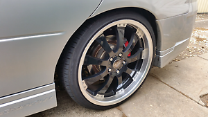 "20"" ssw wheels x 4 (5x120 commodore pcd) Rouse Hill The Hills District Preview"