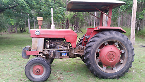 Massey Ferguson 168 tractor and slasher. Welcome Creek Bundaberg Surrounds Preview