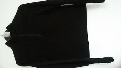 Bywater, Fleece Pullover, schwarz, Gr. 40 (M178)