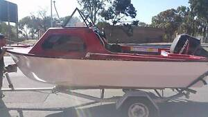16ft half cabin with 06 50hp merc Henley Beach South Charles Sturt Area Preview