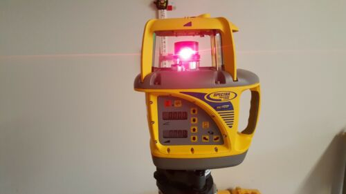 Trimble Spectra Precision GL722 Dual Grade Laser w/ Receiver