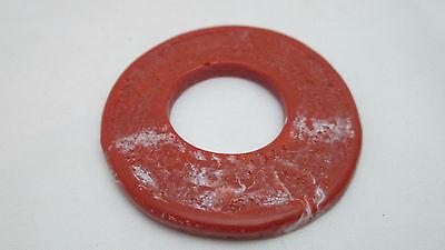 Ancient Treasures 55mm Plastic Round Disc/Hole Bead - Jasper