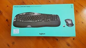 Brand New Logitech MK550 Comfort Wave Keyboard Ashtonfield Maitland Area Preview