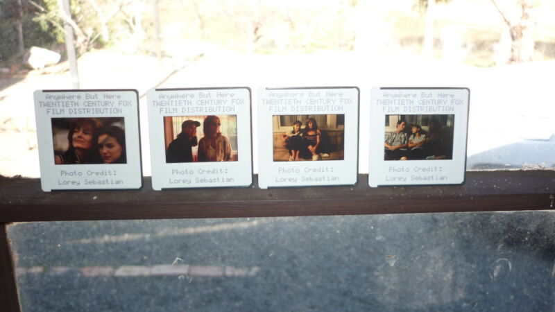 COLLECTION OF 4 ORIGINAL MOVIE FILM CELLS, ANYWHERE BUT HERE NATALIE PORTMAN 3