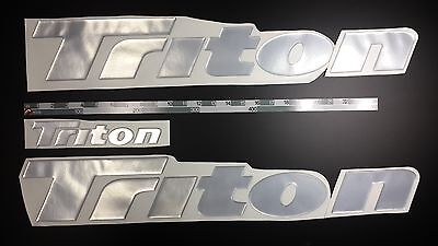 "Triton boat Emblem 26"" + FREE FAST delivery DHL express"