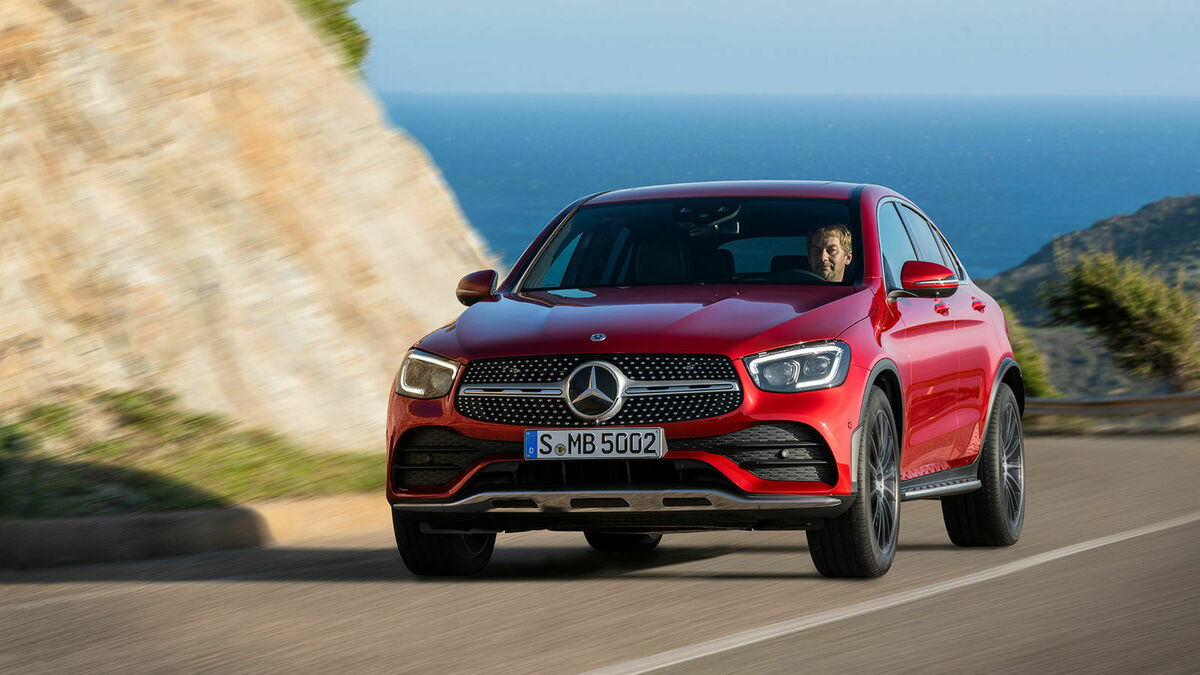 Mercedes GLC Coupe Facelift Frontansicht