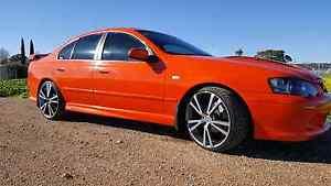 BA XR8  Blood Orange Auto Salisbury East Salisbury Area Preview