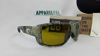 ff4a7777bab New Costa del Mar Double Haul Polarized Sunglasses Realtree AP Camo Sunrise  580P