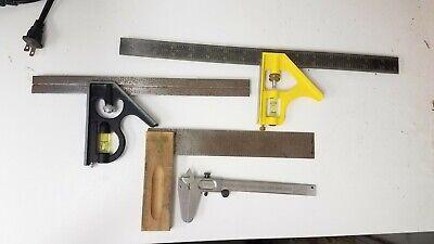 Lot Of Vintage Measuring Tools