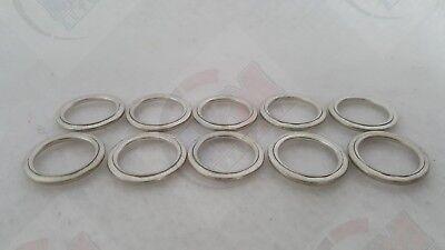 Oil Drain Plug CRUSH Gasket Washer - Pack of 10 - for Honda & Acura