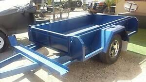 7'4 X 4'4 OFF ROAD TRAILER WITH BIKE RACK Adelaide CBD Adelaide City Preview