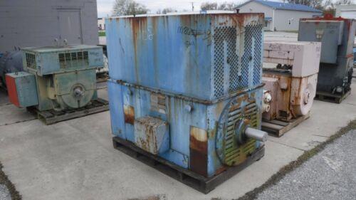 300 HP General Electric AC Electric Motor 600 RPM Fr 8211S TEFCBB TUBE 2300V EOK