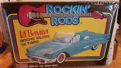 Rockin rods La Bamba Ritchie Valens 1958 T-Bird model kit 1/24 scale