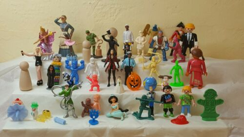 50-piece collection of sand tray figures for psychotherapy and play therapy