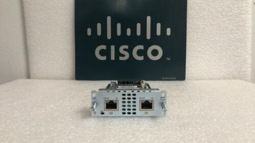 CISCO NIM-2MFT-T1/E1 2-Port T1/E1 WAN and Voice Network Interface Module Card