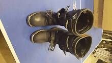Kids Motorcycle Boots - as new! Bega Valley Preview