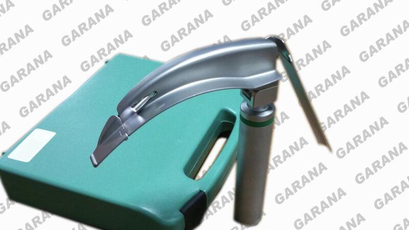 McCoy MACINTOSH Laryngoscope Flexible Tip Blade # 4 Fiber Optic