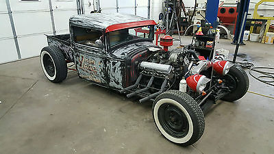 1931 Ford Model A Truck 1931 Ford Model A Hot Rod Truck Not Bagged but Chopped and Channeled
