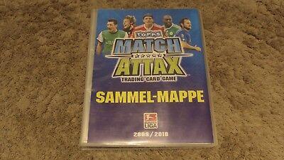 Topps Match Attax Bundesliga 2009/10 Ordner mit Karten (Fußball-karte Ordner)