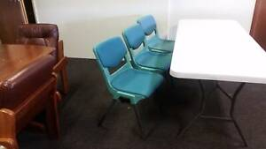 padded conferance chairs