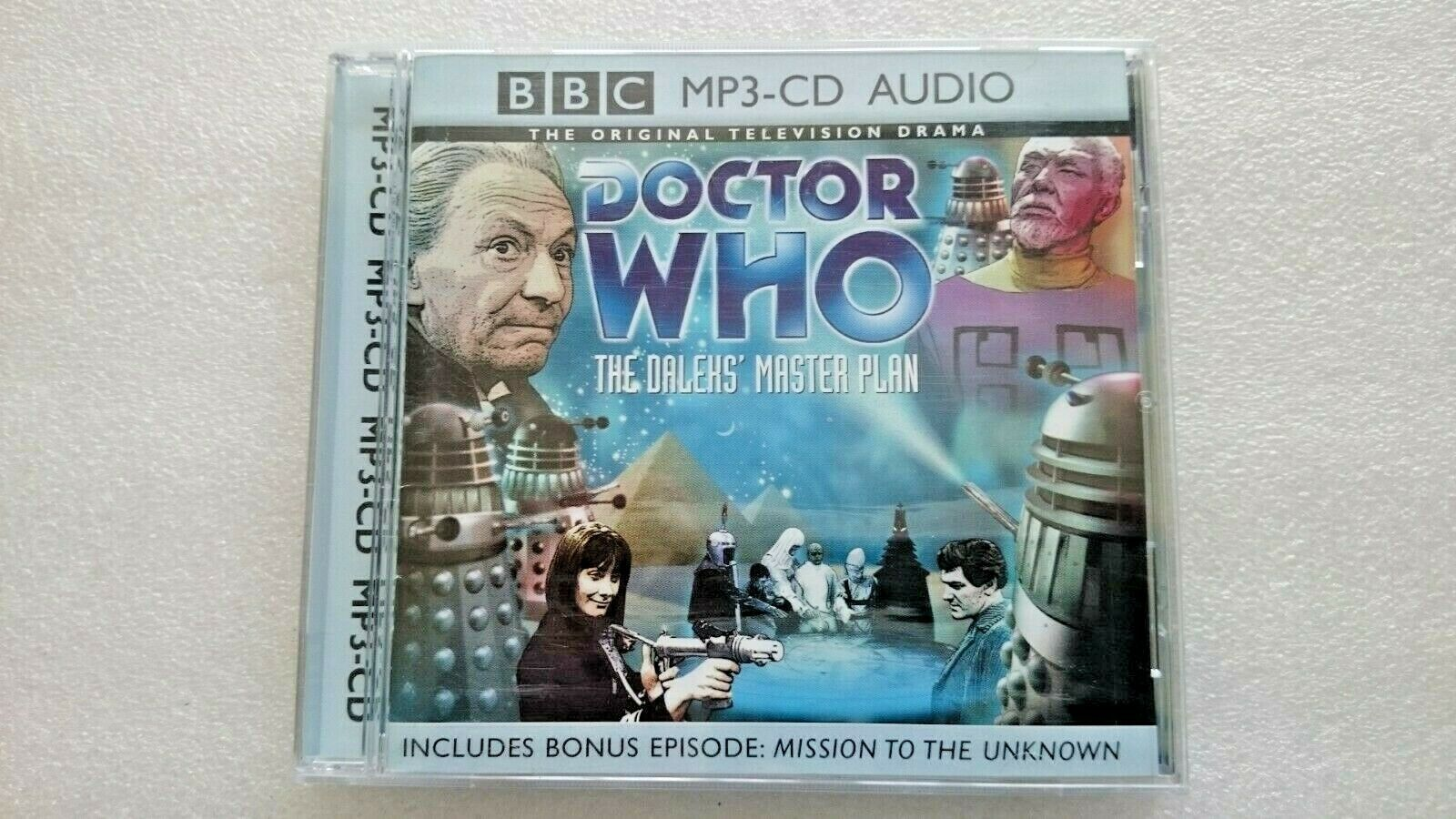 Doctor Who The Dalek Master Plan (MP3 CD  Soundtrack 2003)