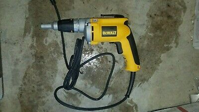 New Dewalt Drywall Screwdriver Dw272 6.3 Amps Corded